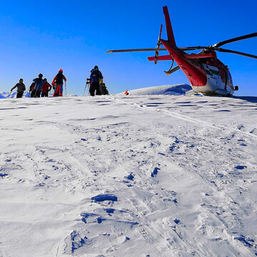 Heli-skiing Gallery