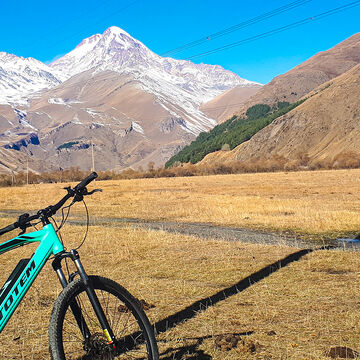 E-bike around Kazbegi
